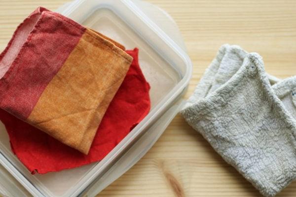 Müllfreier Baby-Popo dank selbstgemachten Feuchttüchern