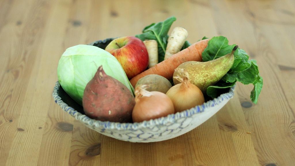 Auch im Winter kann man regional und saisonal einkaufen und essen