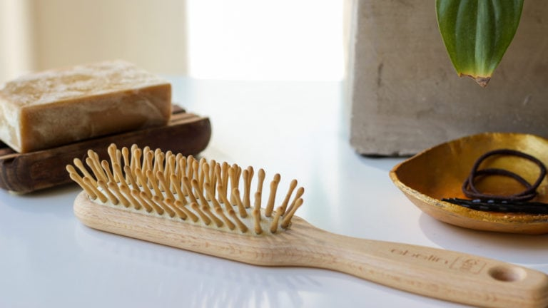 Quick Tip: Haarbürste aus Holz